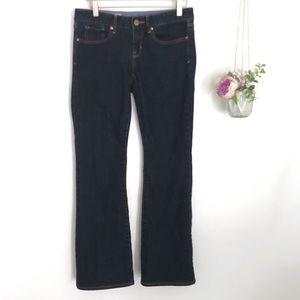 Gap Dark Wash Curvy Jeans 27/4a Bootcut